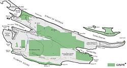 Saturna Island Road Map